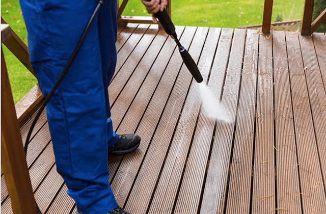 deck cleaning overland park