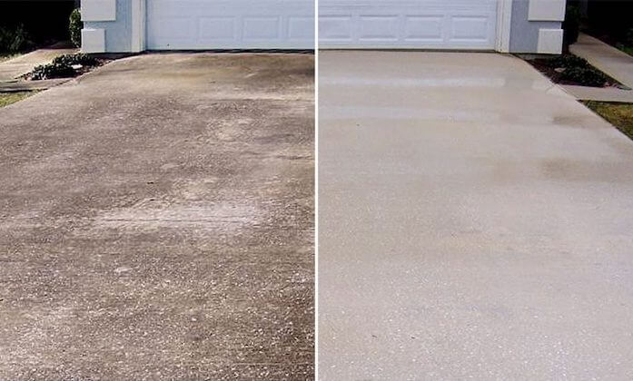 overland park driveway cleaning